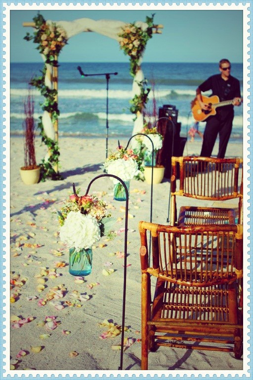 Gorgeous Bamboo Ceremony Chairs