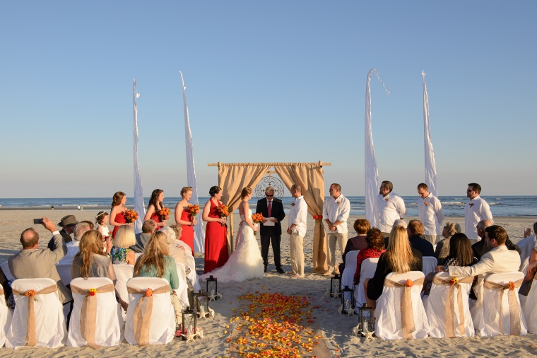 Tybee Island Wedding Ceremony